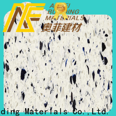 New most popular white quartz countertops fpb1397 suppliers for table top