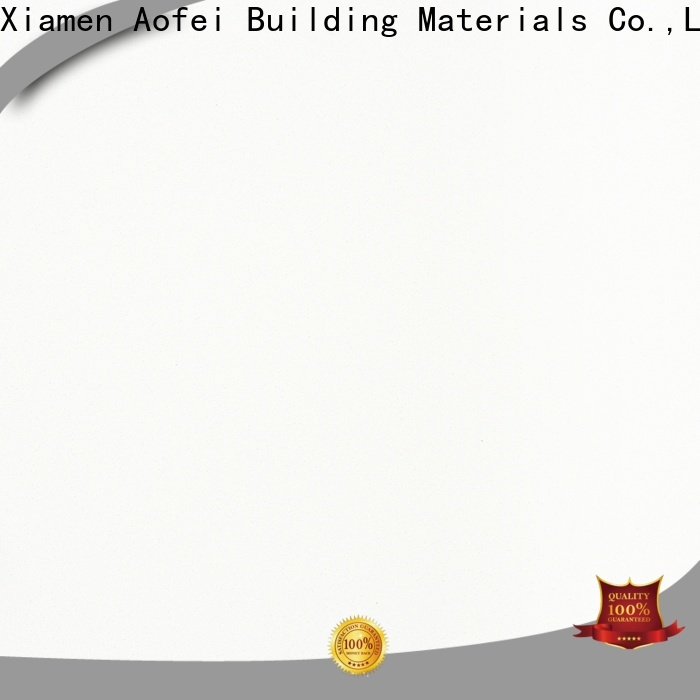 Top pure white quartzite kitchen supply for flooring
