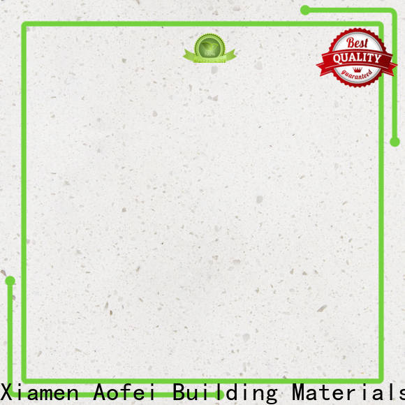 AOFEI Top solid white quartz for business for table top