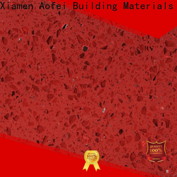 Wholesale red quartz floor tiles suppliers for kitchen