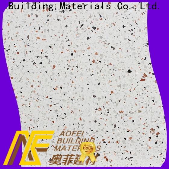 AOFEI price terrazzo tiles sizes suppliers for bathroom
