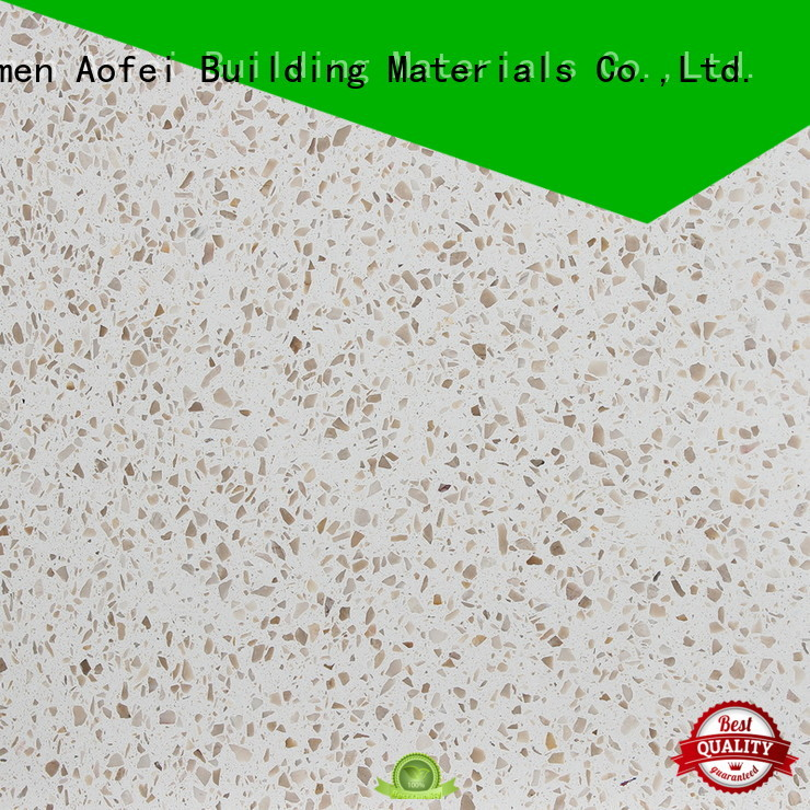 AOFEI Best terrazzo polishing cost factory for outdoor patio