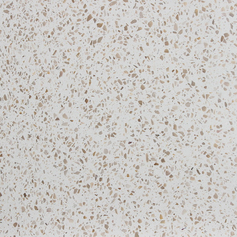 White Terrazzo Ceramic Tile Good Quality