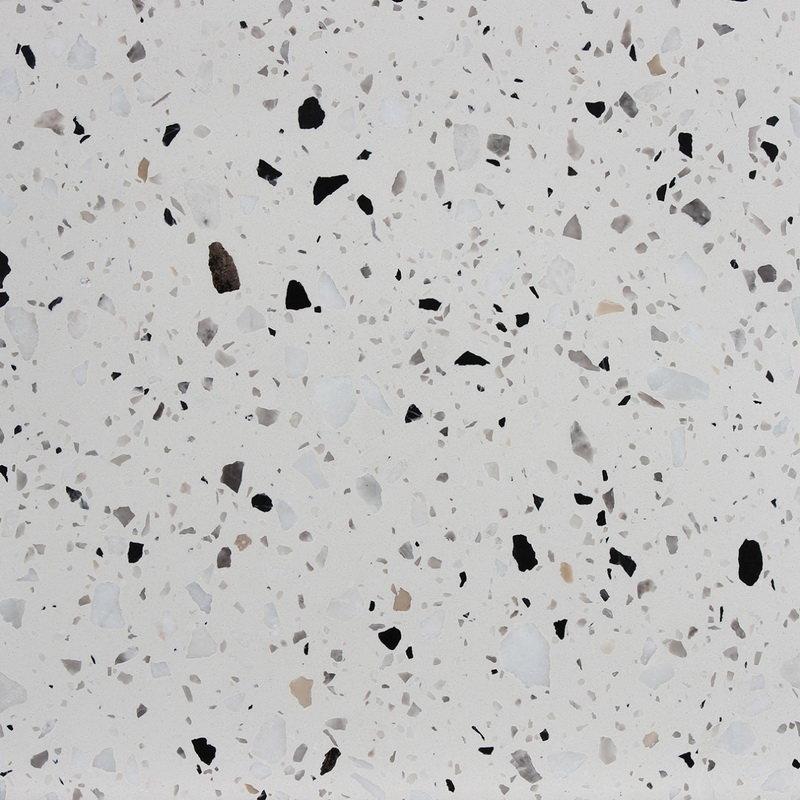 White Terrazzo Stone Flooring Tile Supplier