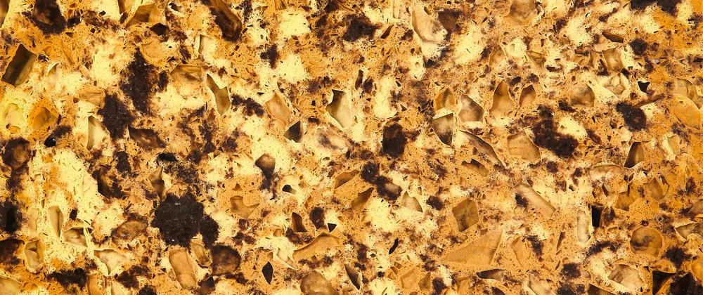 Mixed Quartz Tiles Golden Yellow Supplier