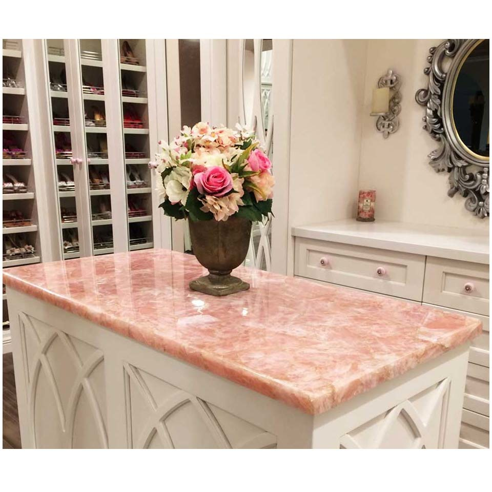 AOFEI red pink stone countertops for business for outdoor kitchen