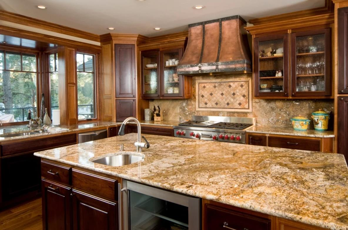 Top cream colored countertops factory for kitchen-1