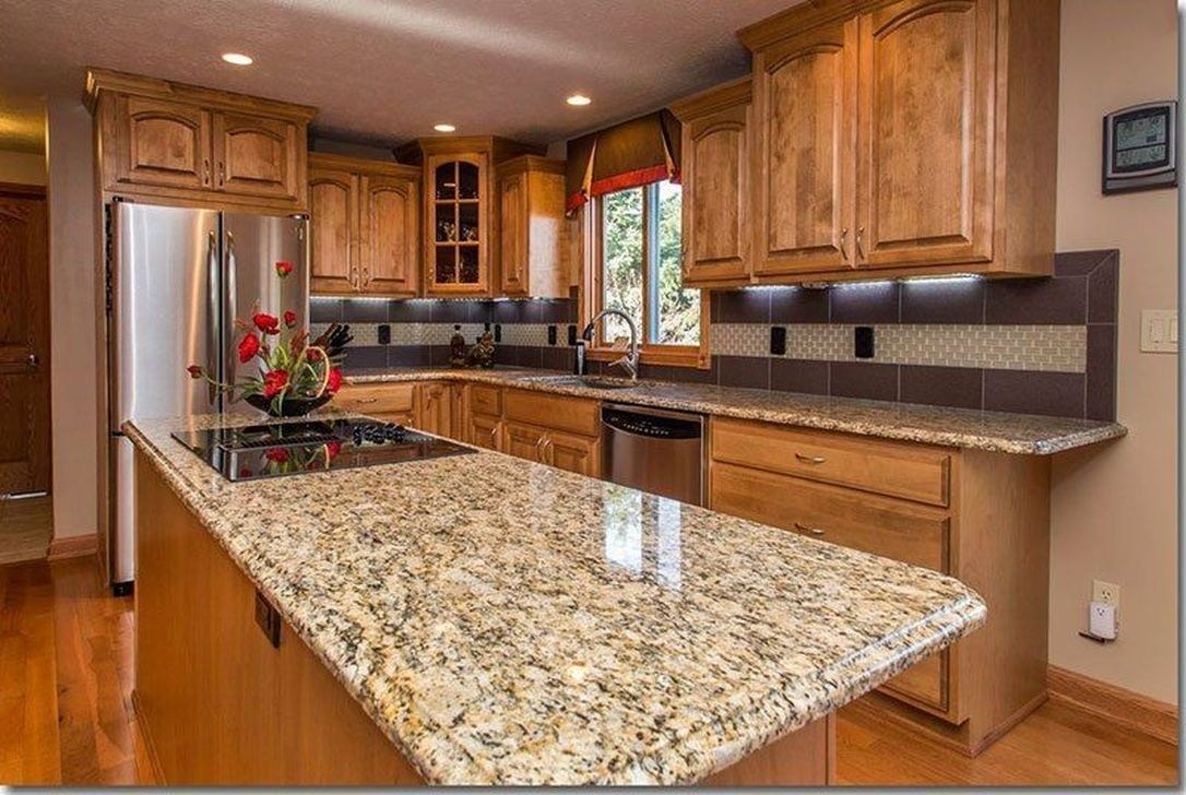 Top cream colored countertops factory for kitchen-2