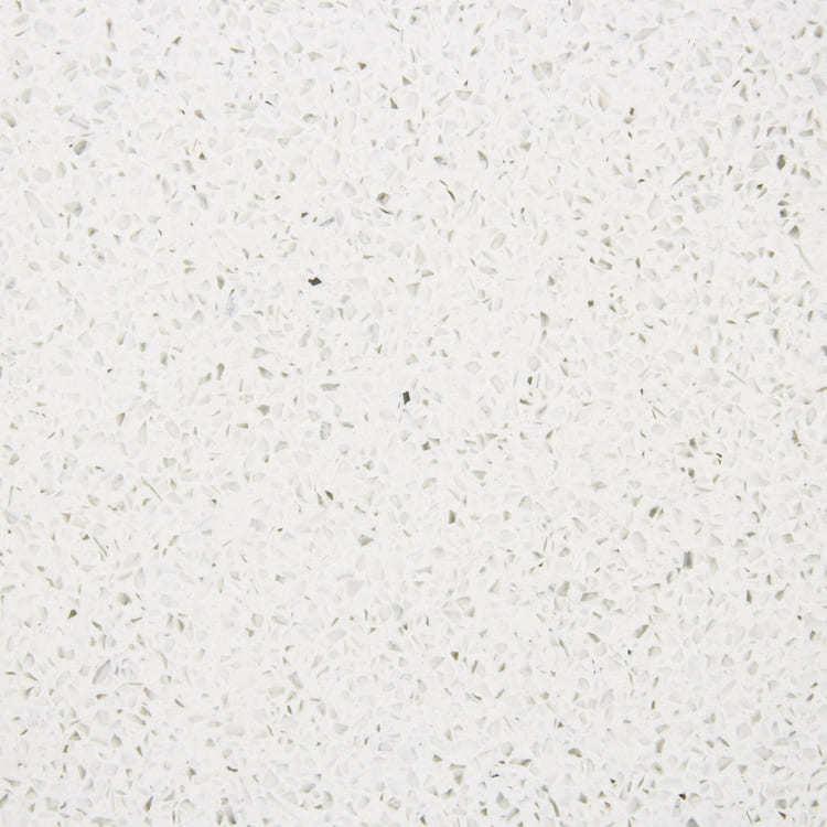 White Mirror Quartz Kitchen Top Snow Moon Silver Sand PIB2379