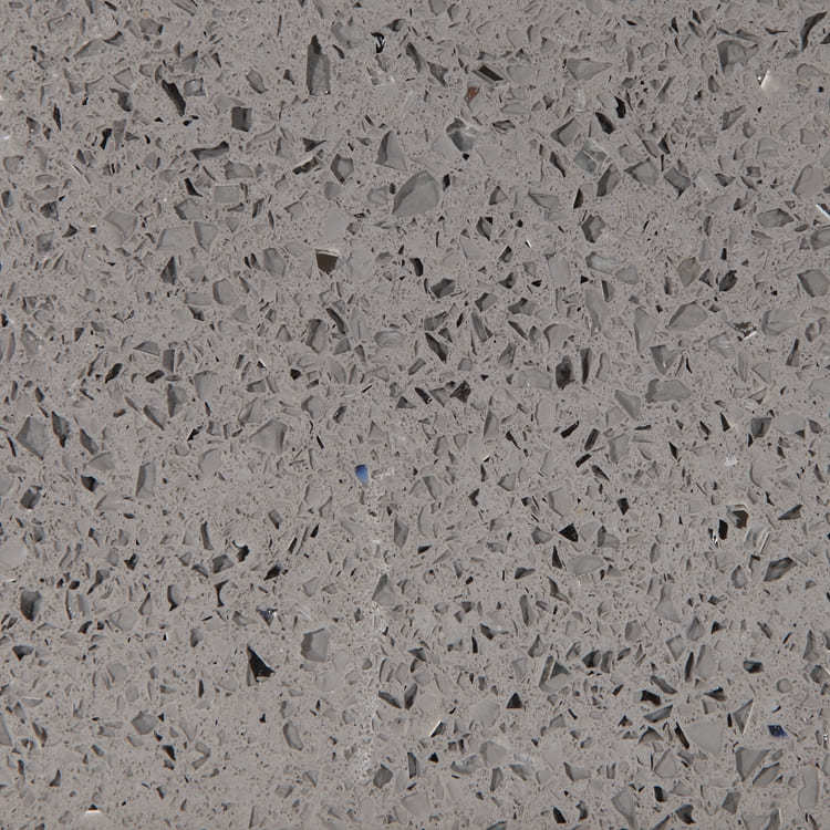 Grey Mirror Quartz Worktop Quartz Kitchen Top XIC3019